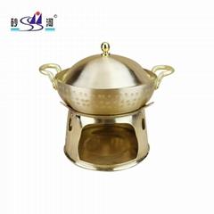 Copper hot pot