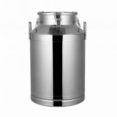 不鏽鋼密封罐容器花生油桶牛奶桶適合畜牧養殖場搾油作坊使用