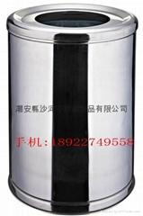 不锈钢垃圾桶 清洁用品 果皮桶