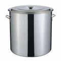 User friendly steel kitchenware soup