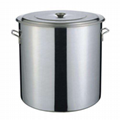 100cm不鏽鋼多用桶 1米湯桶 厚底耐用桶 水池桶