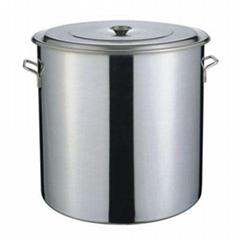 100cm不锈钢多用桶 1米汤桶 厚底耐用桶 水池桶