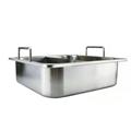 四方鴛鴦火鍋 格鍋不鏽鋼隔鍋