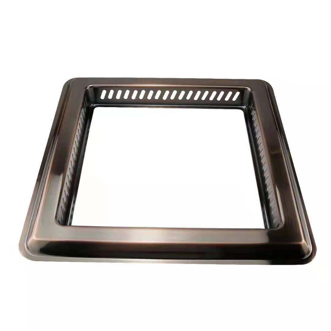 鍋圈炊具不鏽鋼無煙火鍋鍋圈酒樓火鍋店火鍋桌電磁爐電陶爐配件 2
