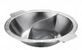 厚重厨具7.5升大容量商用钢鸳