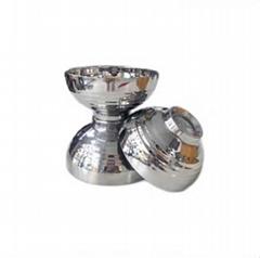 生活用品304不鏽鋼雙層隔熱碗家用飯碗商業湯碗餐具