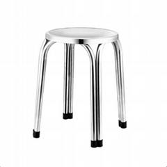 不锈钢凳子 方凳
