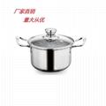 精美锅不锈钢砂锅