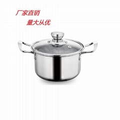 Stainless steel Induction cooker soup pot Available Electric Cooking Utensils