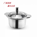 Buy cookerware Stainless steel pot stock Looking for Shahe