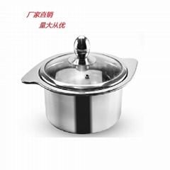 不鏽鋼火鍋 牛奶鍋