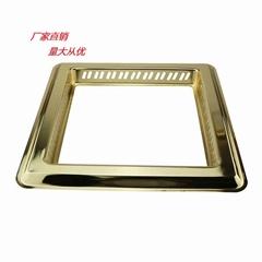 锅圈 不锈钢无烟火锅锅圈 火锅桌配套