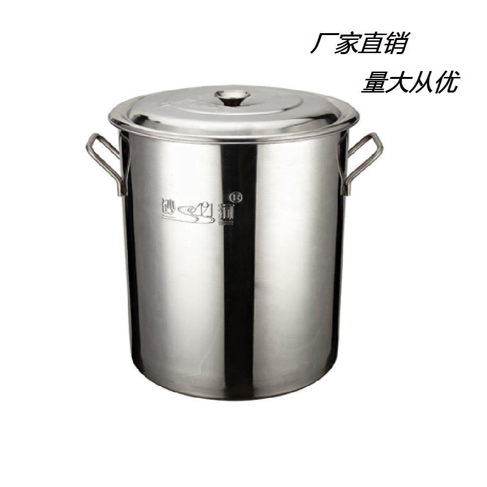 厨房18/10不锈钢大容量汤桶不容易生锈可用燃气炉 1