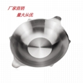 S/S special-shaped large capacity clearlyly Soup hot pot Available Gas stove