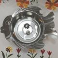 Kitchen Metal s/s Shabu Pot Container Fish Shape Soup Pot grunting fish hot pot