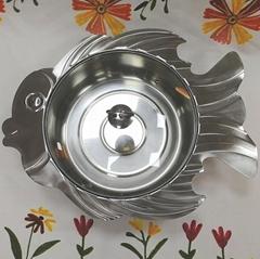 Stainless steel SHABU HOT POT FISH SHAPE HOTPOT