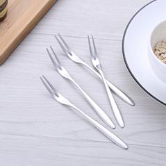 餐具不锈钢水果叉中秋月蛋糕饼叉日常用品