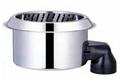 Stainless steel Mini Smokeless hot pot