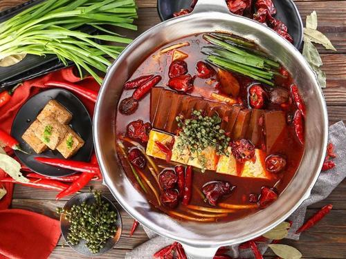 """All stainless hot pot 15""""dia. Stainless Steel Stock Pot Conjoined Hot Pot  4"""