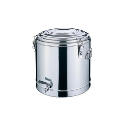 不鏽鋼雙層多用桶茶樓廚具保溫飯桶建築工地茶水桶酒店用品 1