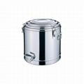 不鏽鋼雙層多用桶茶樓廚具保溫飯