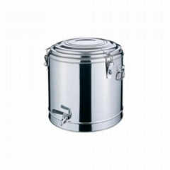 Stainless Steel Double Wall Insulated Barrel With Tap Hotel supplies