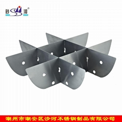 Chongking S/S hot pot Nine Grids (Tic Tac Toe) Kitchen Hot Pot Accessory