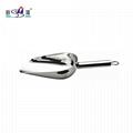Bar Accessories stainless steel Ice scoop inox round ice spade Ice shovel