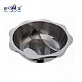 Cookware Stainless steel Sun shape yin