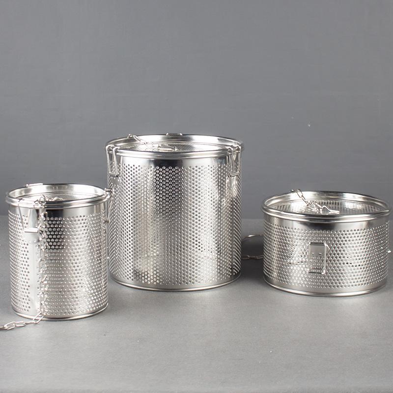 Kitchenware S/S Filter Slag Separation Soup Spice Basket for separating residue  1