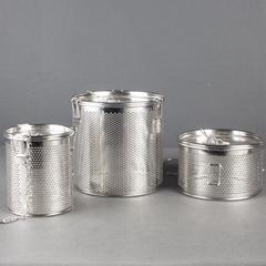 不鏽鋼小孔板網鹵水籃適用於賓館餐廳使用生活用品