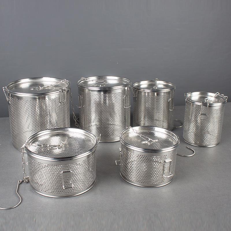Kitchenware S/S Filter Slag Separation Soup Spice Basket for separating residue  4