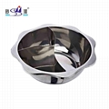 Kitchenware S/S pan divider into T-style