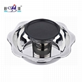 Summer Lotus Pan with Teppan 2 layers Barbecue Hot pot purpose gas cooker Summer