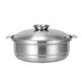 砂河不锈钢大容量汤锅潮汕海鲜汤锅厨房食品容器电磁炉燃气炉通用 1