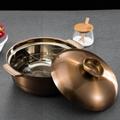 砂河不锈钢大容量汤锅潮汕海鲜汤锅厨房食品容器电磁炉燃气炉通用 9