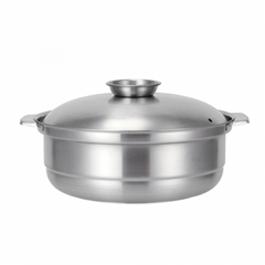 Catering articles Stainless steel 5.9 Quart stock pot w/Lid hot pot