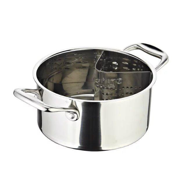 个性化定做不锈钢无渣火锅炊具 1