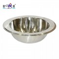 kitchenware s/s round wide-brimmed stock