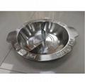 Good looking durable cooker stock pot Metal cooking s/s yin yang fire pot