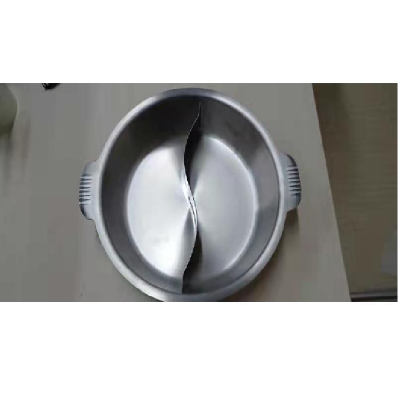 美观耐用的汤锅仿陶瓷砂锅炊具不锈钢鸳鸯火锅电磁炉明火炉通用 1
