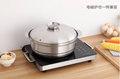 stainless steel kitchen storage soup casserole cookware chinese fire pots  5