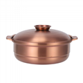 stainless steel kitchen storage soup casserole cookware chinese fire pots  7