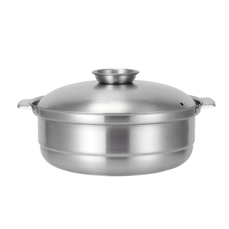 stainless steel kitchen storage soup casserole cookware chinese fire pots  8