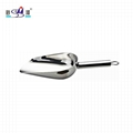 difficult to rust extremely thickness 18/8 steel ice shovel,at reasonable prices
