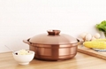 Stainless Sour plum chicken hot pot metal saucepots cook ware made in china 3