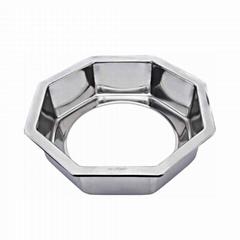 火鍋店不鏽鋼下沉式火鍋鍋圈火鍋桌配件