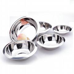 tableware pan stainless steel anti side bowl