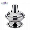 Restaurant Equipment Old Beijing Fire Boiler Warm Hot Furnace Charcoal Fire Pot