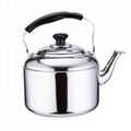 whistle kettle s/s 4L whistling water kettle for gas stove & Induction Cooker